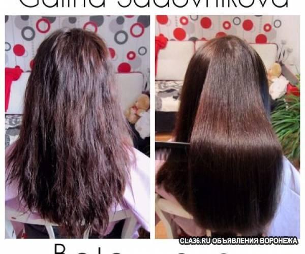 Модели для кератинового выпрямления волос